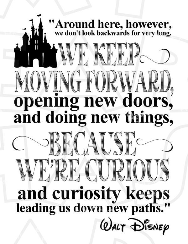 Disney Quote Desktop Clipart.