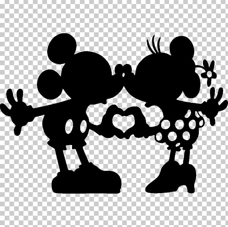 Minnie Mouse Mickey Mouse Silhouette Drawing The Walt Disney Company.