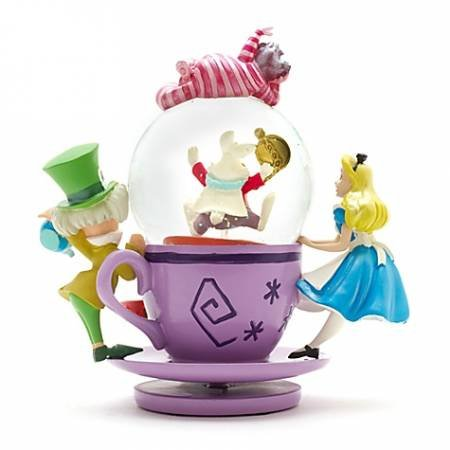 Disney Alice Tea Party Snowglobe.