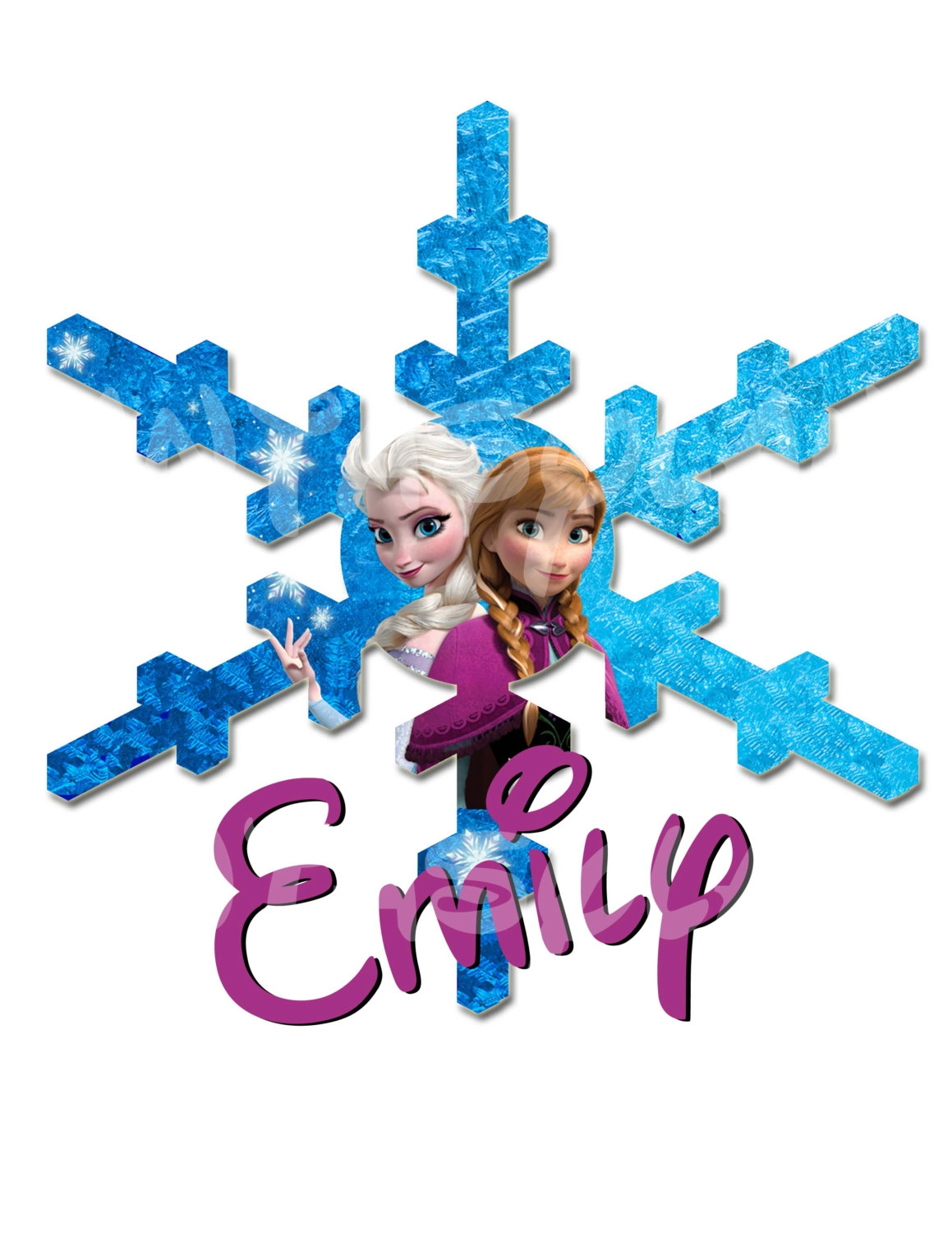 disney snowflakes clipart clipground