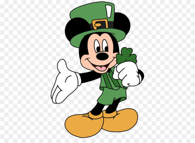 Download Free png Mickey Mouse Saint Patrick's Day Minnie Mouse The.