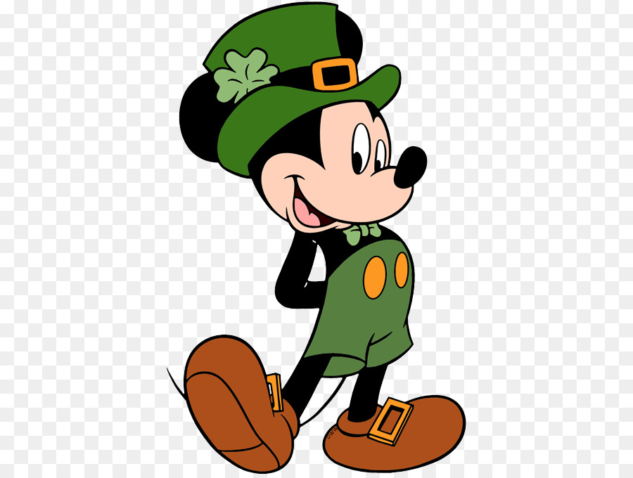 Mickey Mouse Minnie Mouse Saint Patrick' #141023.