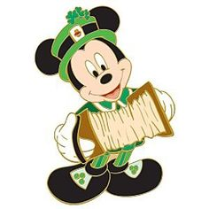 ST. PATRICK'S DAY MICKEY MOUSE.