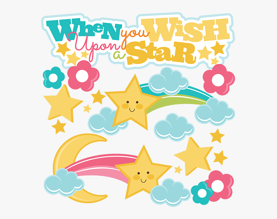 Free Disney Wish Upon A Star Clipart.