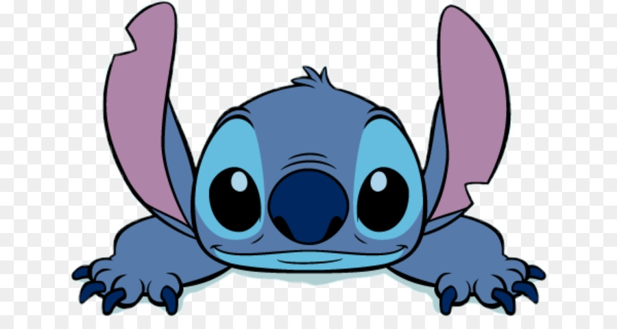 Disney Stitch Drawing png download.