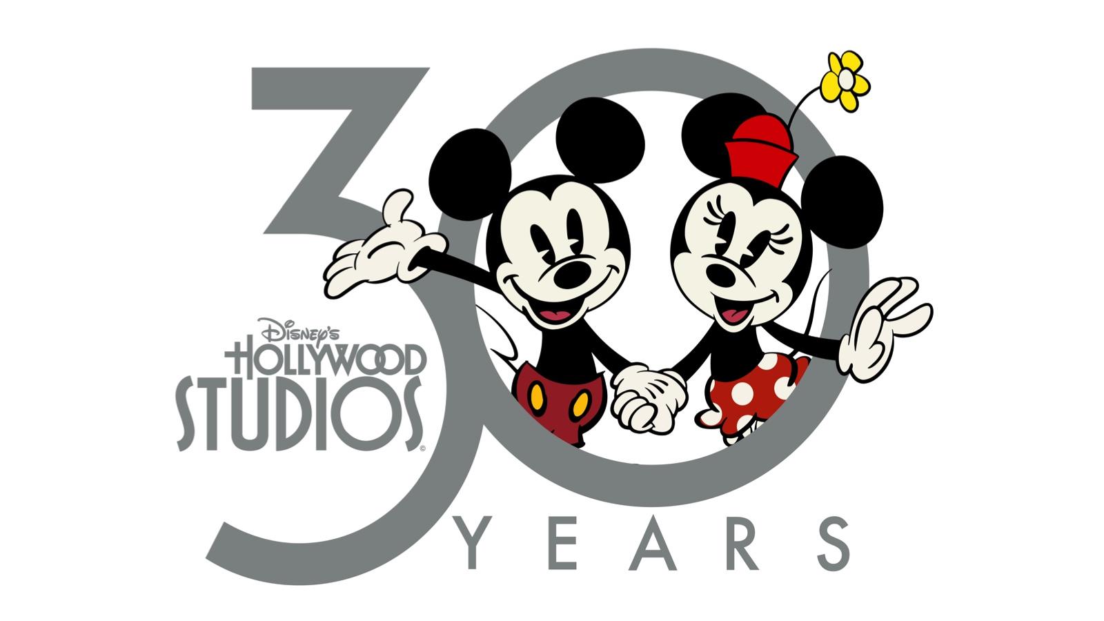 Disney\'s Hollywood Studios Celebrates Its 30th with New Logo.