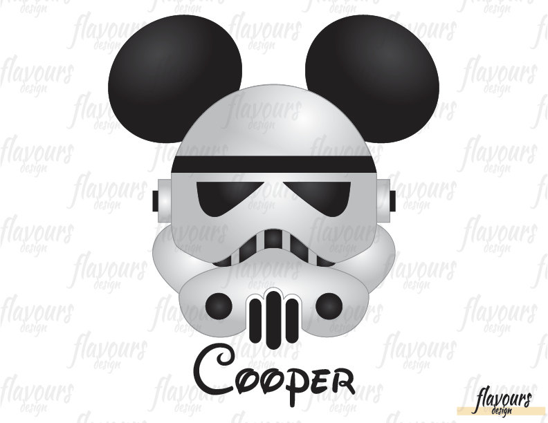 Stormtrooper mickey.