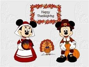 Thanksgiving clip art mickey.