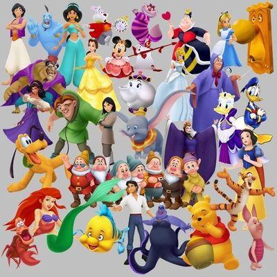 Disney Theme Park Clipart.