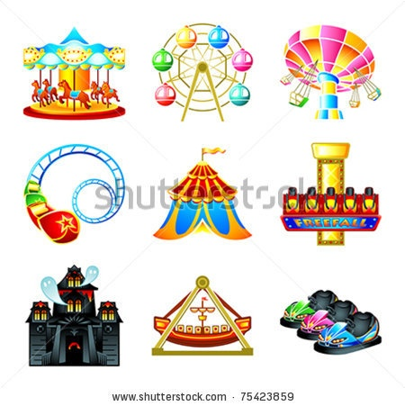 Disney Theme Park Clipart (55+).