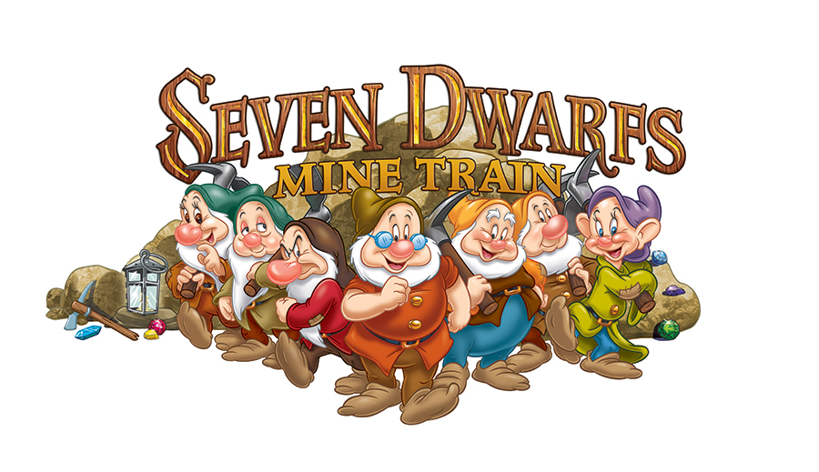 First Look: Seven Dwarfs Mine Train Logo Unveiled.