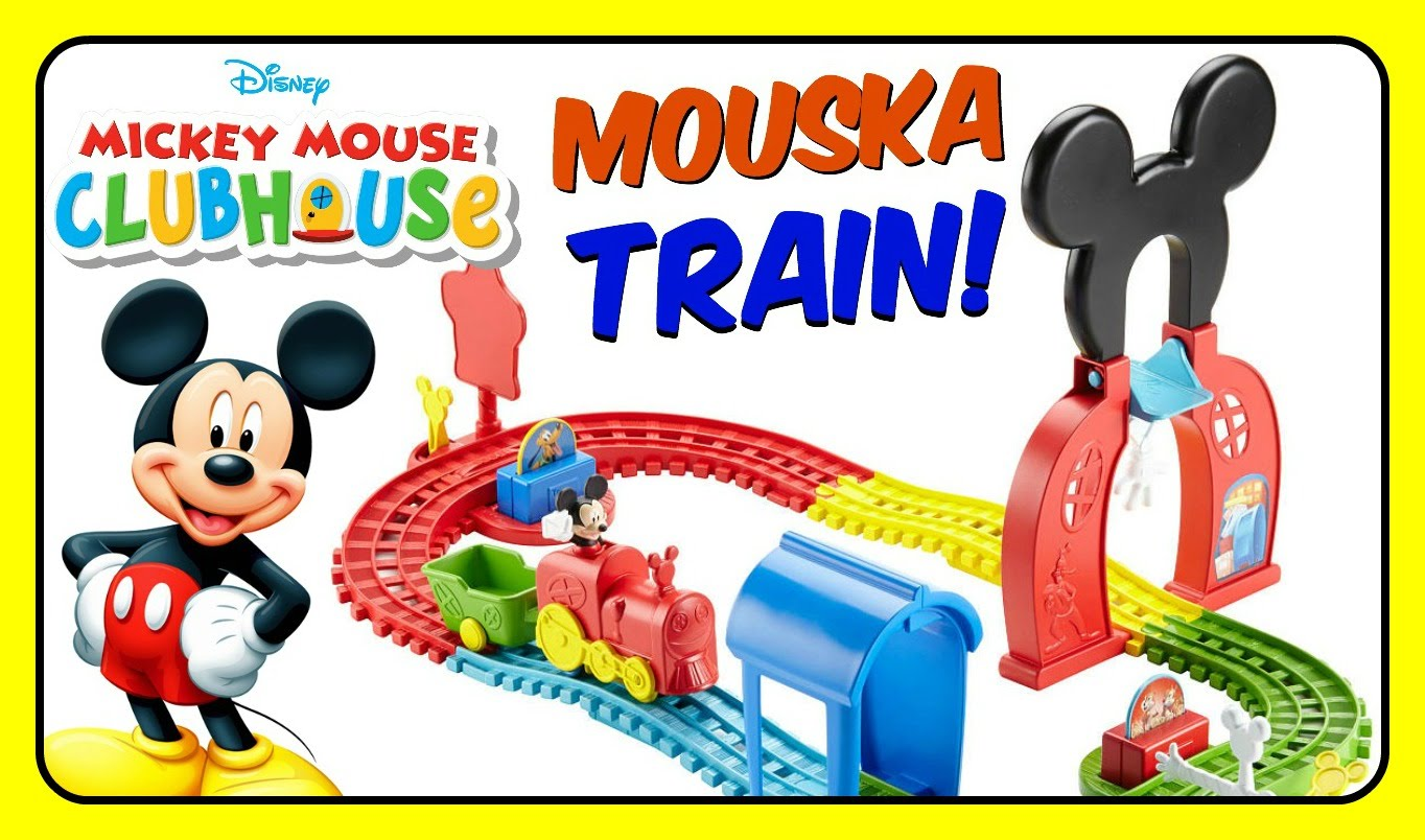 Mickey Mouse Clubhouse Mouska Train Express Playset! Fisher Price.