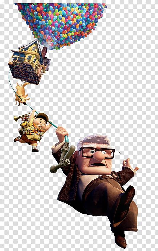 Up Movie, Disney Up illustration transparent background PNG clipart.