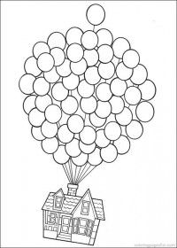 up movie coloring pages.
