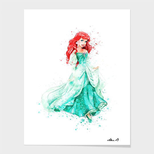 Ariel Mermaid.