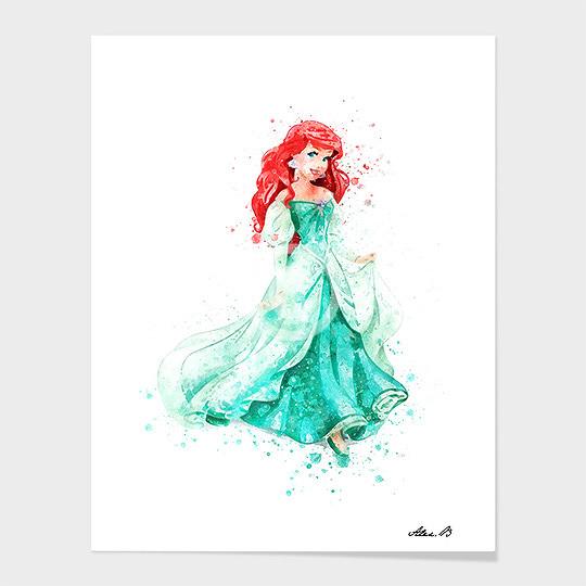 Ariel Mermaid.