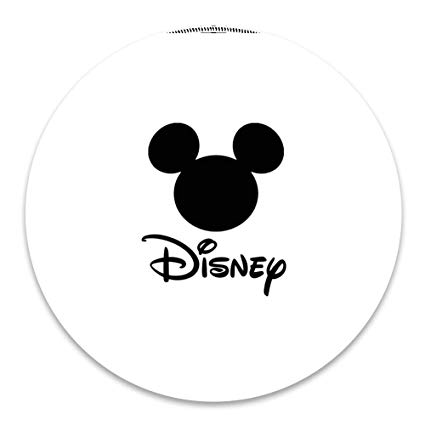 Amazon.com: Mouse Pad Round Stitched Edges Disney Logo.