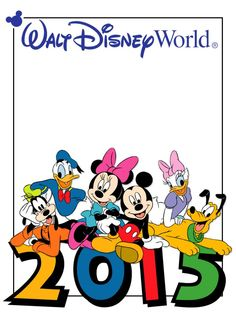 Disney World 2015 Clipart.