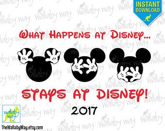 I'm Going to Disney World Printable Iron On Transfer with.