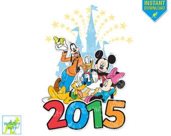 Disney World 2015 Clipart.
