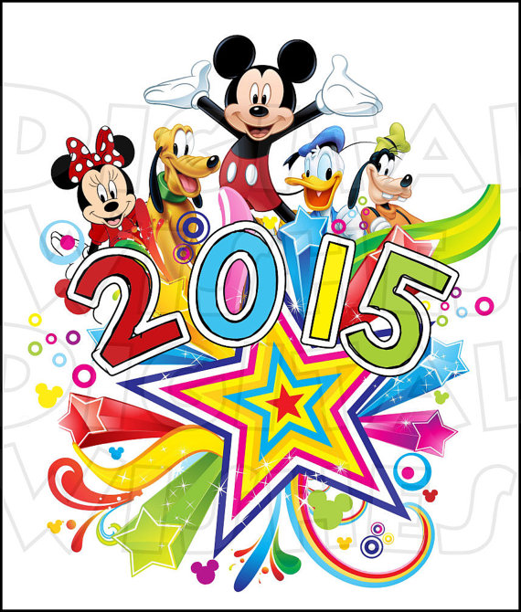Disney world characters clipart.