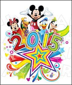 Printable digital clip art instant download Disney bound vacation.