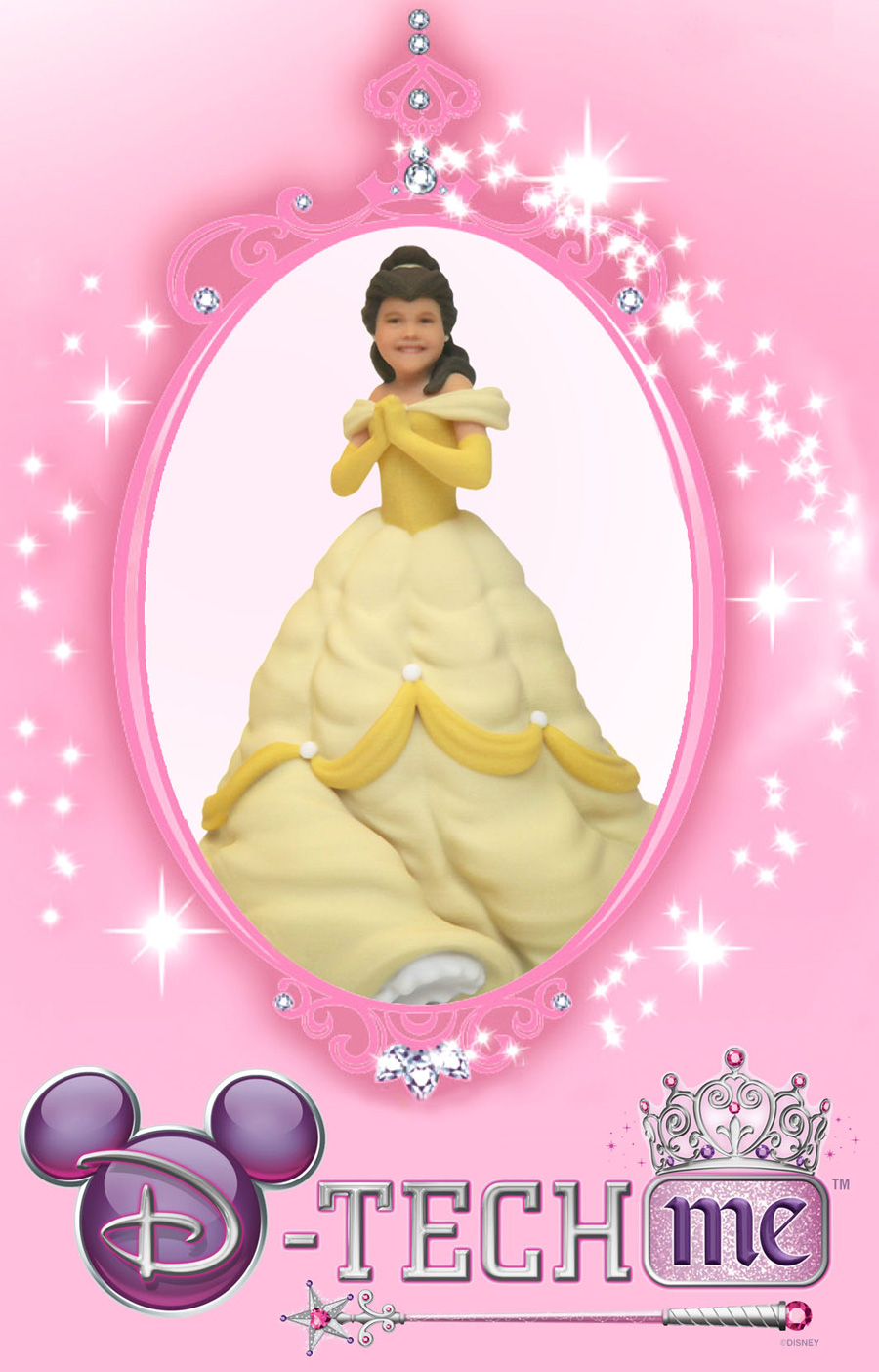Walt Disney World to create custom Princess figurines with.