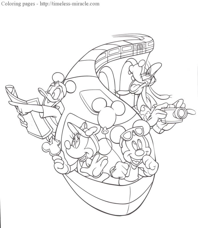 Walt disney world coloring pages Photo.