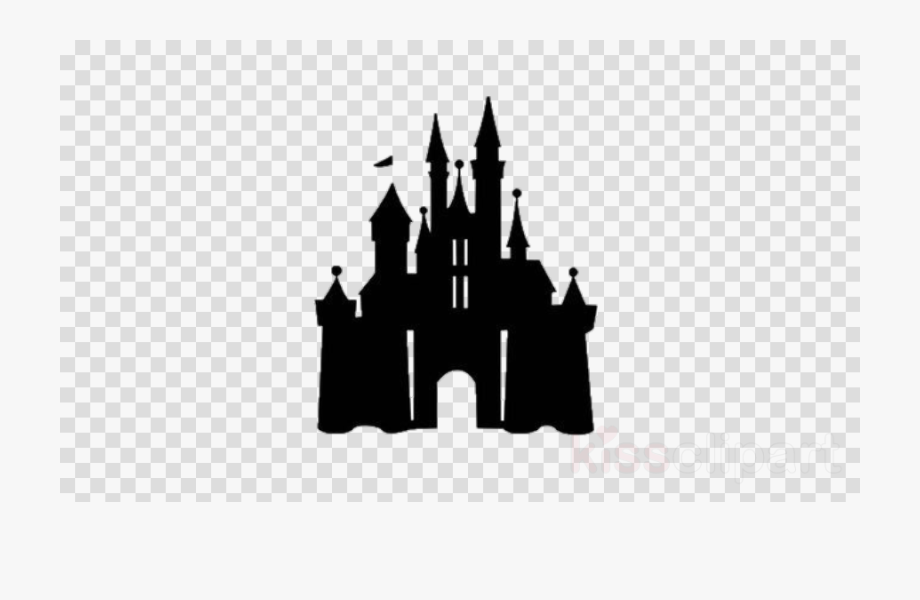 Disney World Castle Silhouette.