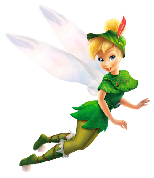 Transparent Tinkerbell Disney Fairy PNG Clipart.