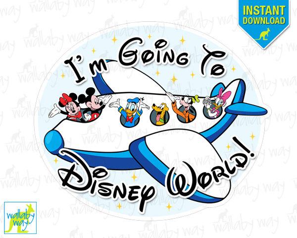 Disney world clipart banner.