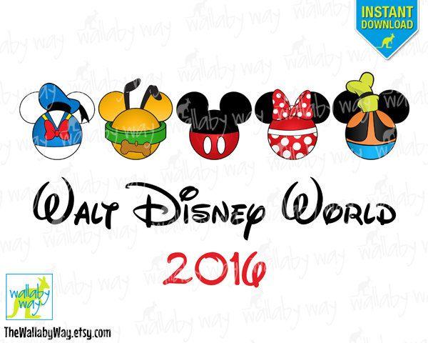 Walt disney world clipart.