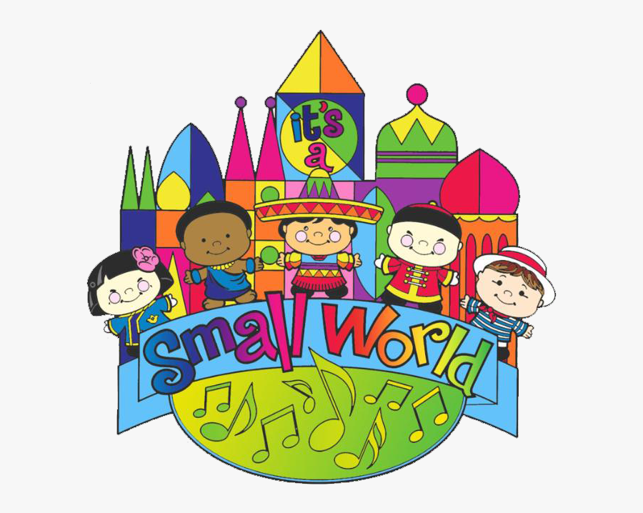 Its A Small World Clipart.