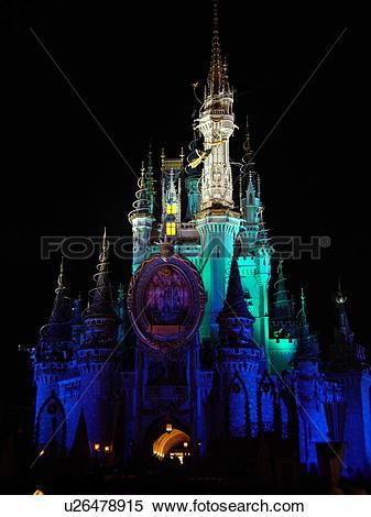 Stock Image of Orlando, FL, Florida, Walt Disney World Resort.