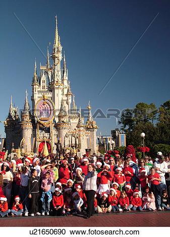 Stock Photography of Orlando, FL, Florida, Walt Disney World.