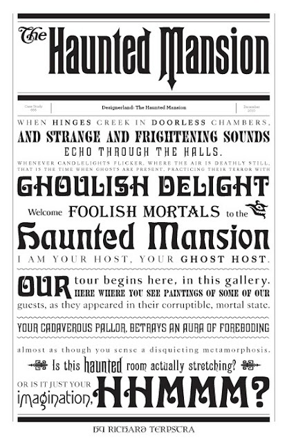 Disney Haunted Mansion script from narration : we get goosebumps.