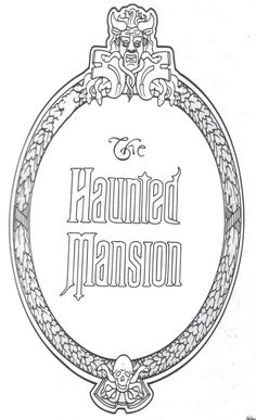 The Haunted Mansion.