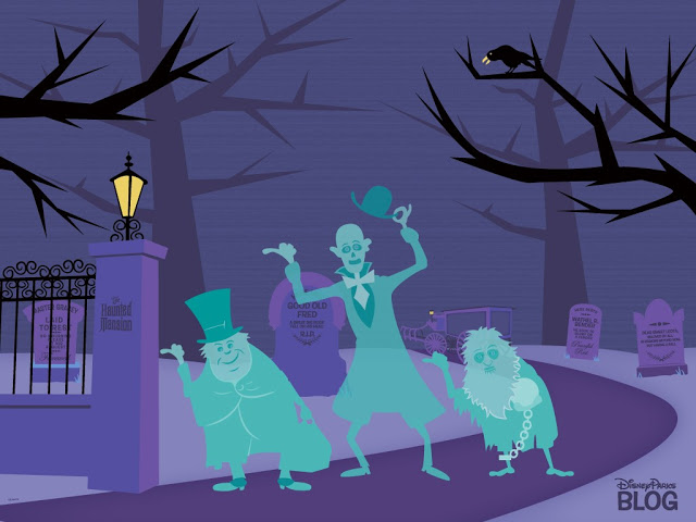 disney world the haunted house clipart #9