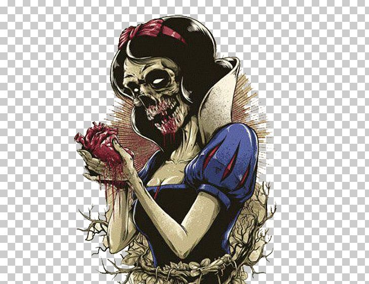 Snow White Rapunzel Zombie Drawing Disney Princess PNG, Clipart, Art.