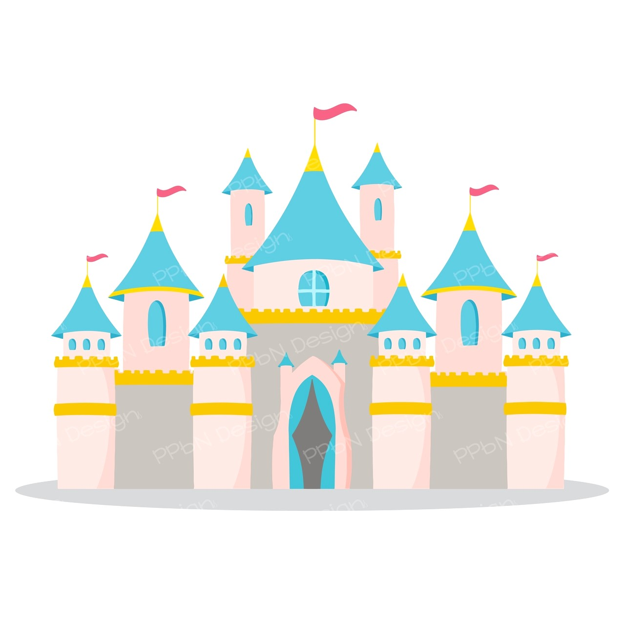 Disneyland Castle Drawing at PaintingValley.com.