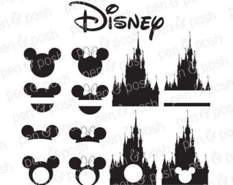 disneyland clipart black and white 20 free Cliparts ...