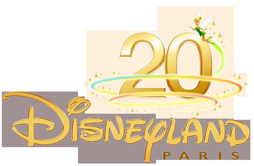 Disneyland Paris Logos Clipart.