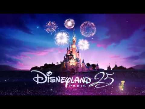 Disneyland Paris 25th Anniversary Logo.