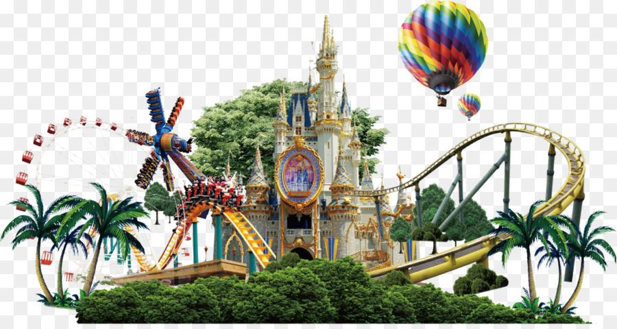Disneyland Recreation png download.