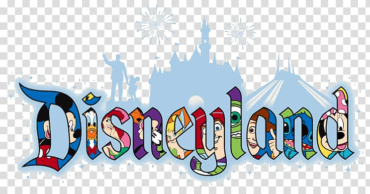 Multicolored Disneyland text illustration, Hong Kong Disneyland.