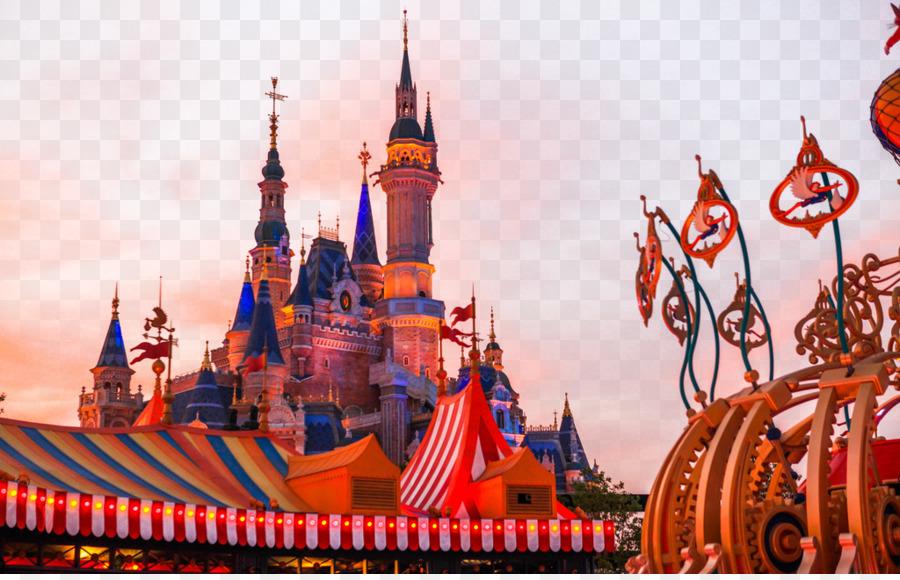 Shanghai Disneyland Park Recreation png download.