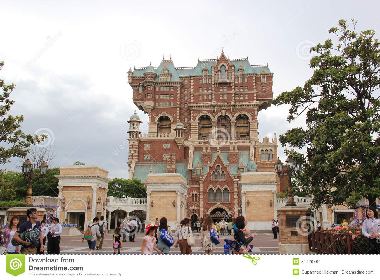 Tower Of Terror At Tokyo DisneySea Editorial Image.