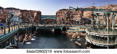 "Stock Photograph of ""Mysterious Island, Tokyo DisneySea, Tokyo."