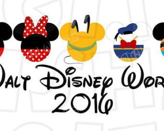 Disney world clipart 2016.