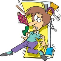 Disorganized person clipart » Clipart Portal.